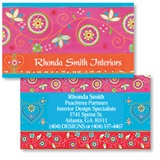 Marrakesh Double Sided Calling Cards