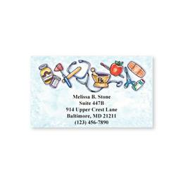 Health Care Single Sided Calling Cards