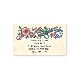 Hairdresser Single Sided Calling Cards