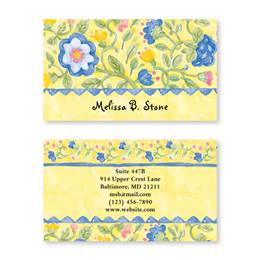 Tuscan Sun Double Sided Calling Cards