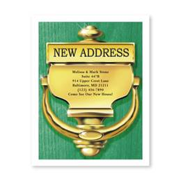 Doorknocker New Address Postcards