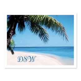 Tropical Personalized Note Cards