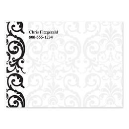 Elegant Lace Personalized 4X3 Post It Notes