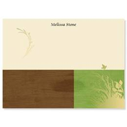 A Green Earth Personalized 4X3 Post It Notes