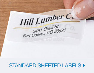 Shop Standard Sheeted Labels
