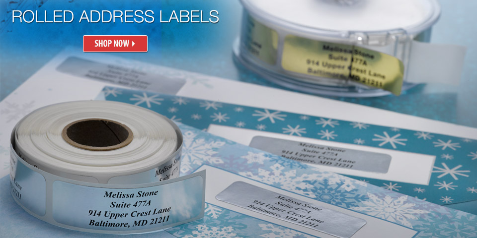 Shop Standard Rolled Address Labels