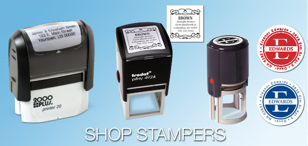 Address Stamps / Stampers