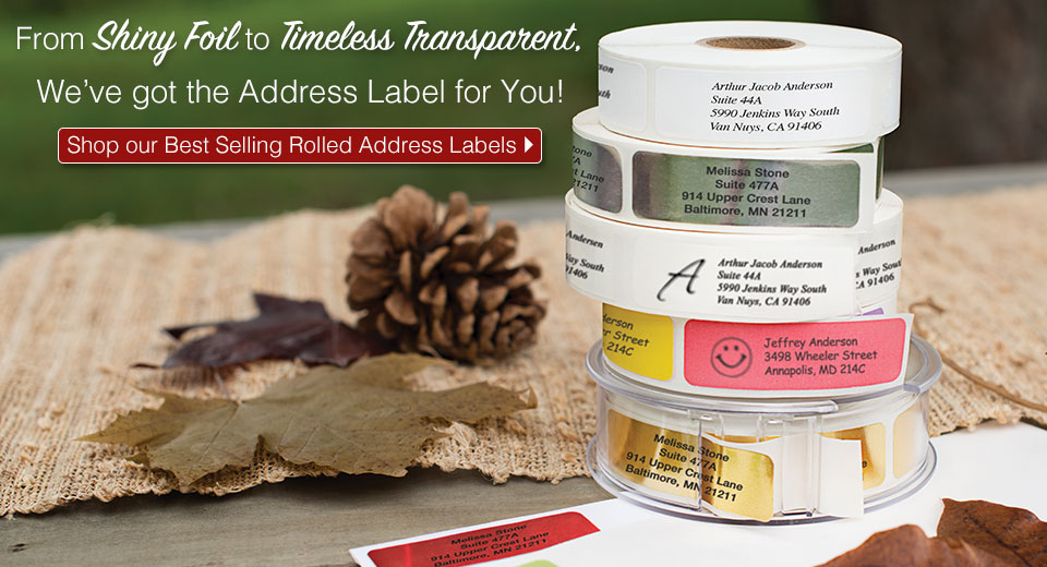 From Shiny Foil to Timeless Transparent labels