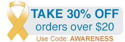 Take 30% Off orders over $20