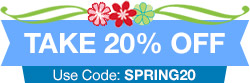 Take 20% Off Any Order!