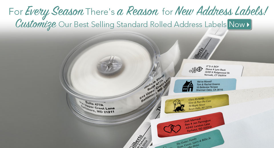 Address Labels Stamps Pet Tags And